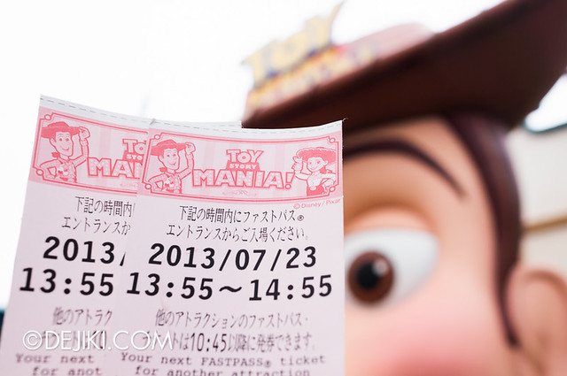 Toy Story Mania - Fastpasses
