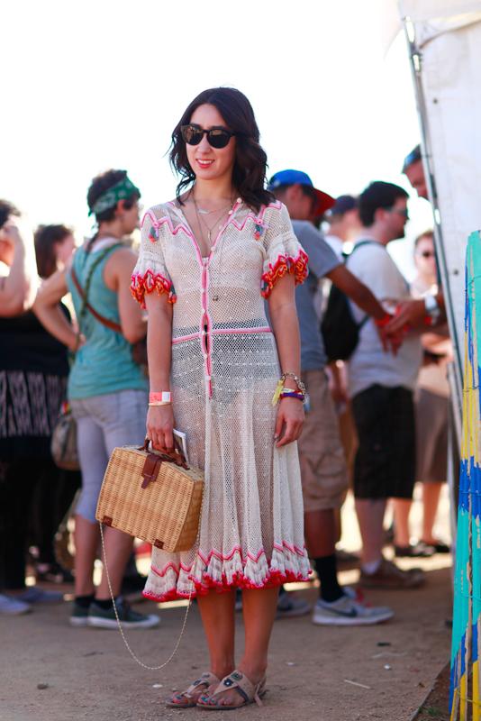 Elaine - FYF FYF Fest, L.A. State Historic Park, LA, music, street fashion, street style, women