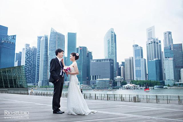 Ảnh cưới Thắng - Thoan (Singapore)