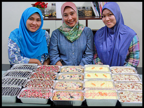 Baking & Deco Class: Mini Pack Cakes ~ 10 Oct 2012