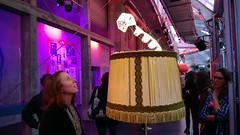 """Scopitone 2013 """"the lamp and the glowworm"""""""