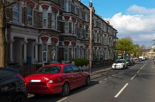 Ma Jaguar X-Type chez les Anglais :)