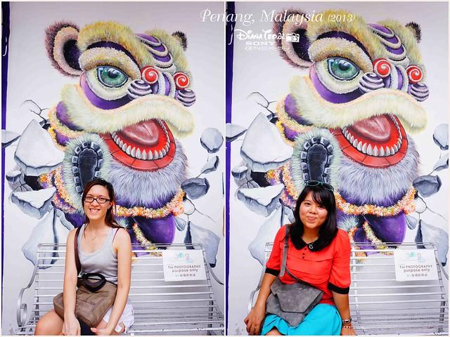 01-1. Penang's Art Street