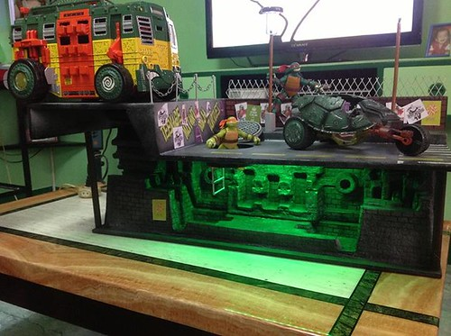 tmnt custom playset by rheiner perez 2