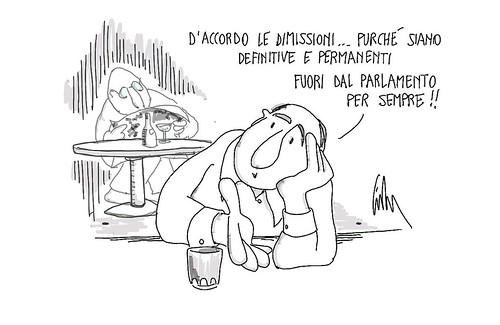 Dimissioni per sempre! by Livio Bonino