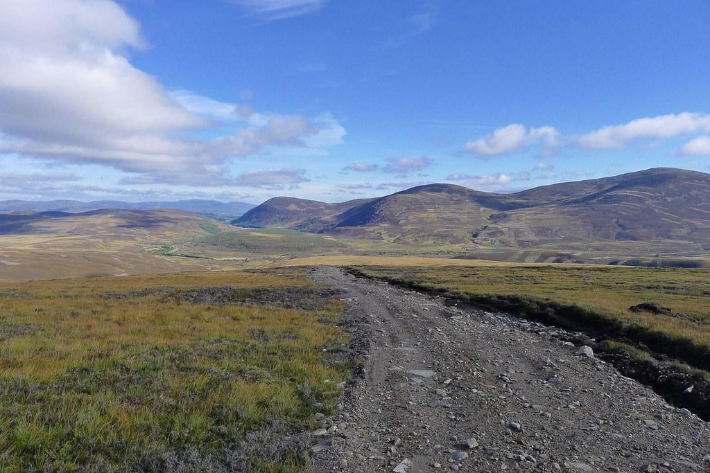 Track to Glen Tromie