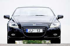 automobile, automotive exterior, vehicle, automotive design, mid-size car, honda cr-z, bumper, land vehicle,