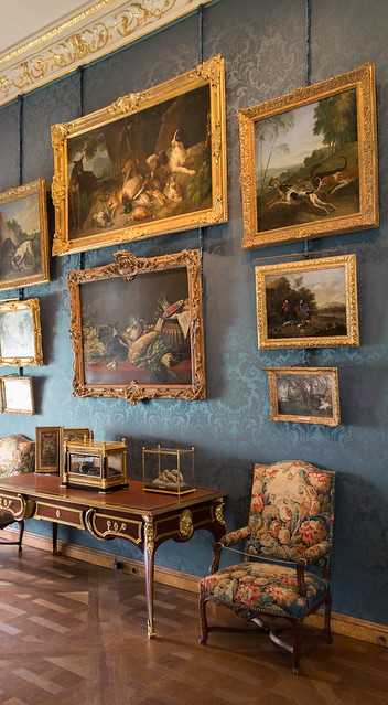 Salle du Renard sur le Fauteuil, musée de la Chasse et de la Nature