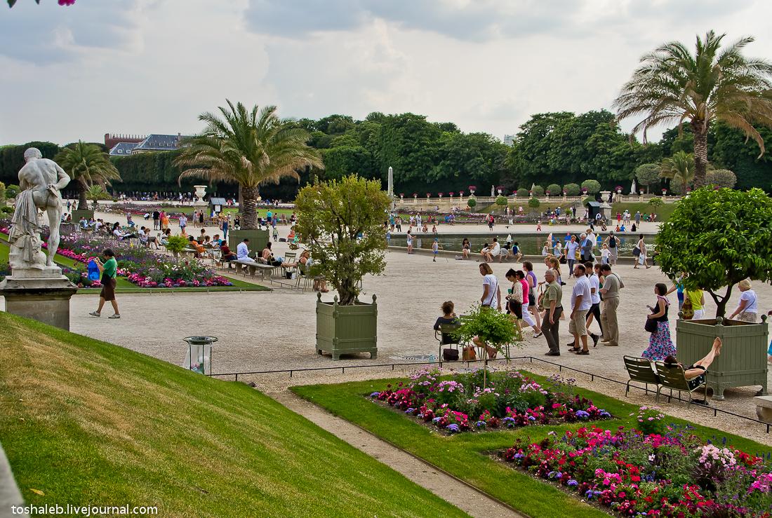 Люксембургские сады-12