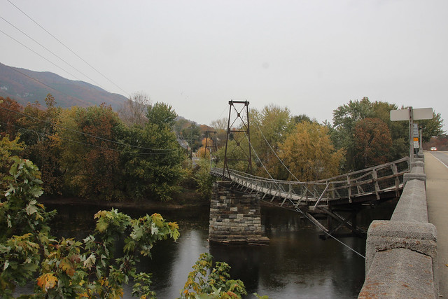 The Buchanan Swinging Bridge - Buchanan, Virginia