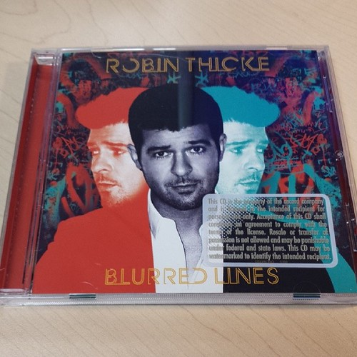 New music.  #RobinThicke