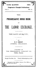 Progressive Hand Book of Labor Exchange