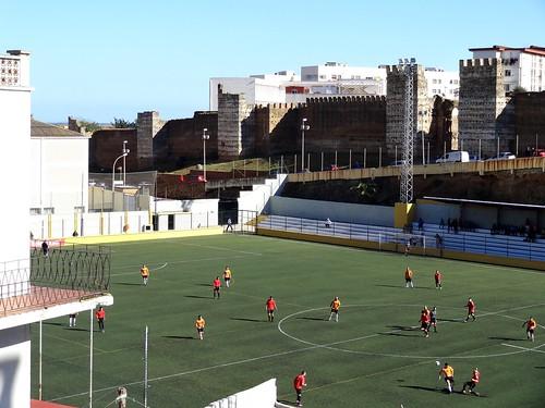 Estadio José Benoliel: AD Ceuta B v Murallas de Ceuta (Preferente Ceuta)