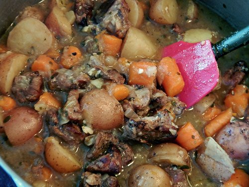 Leftover Lamb Stew