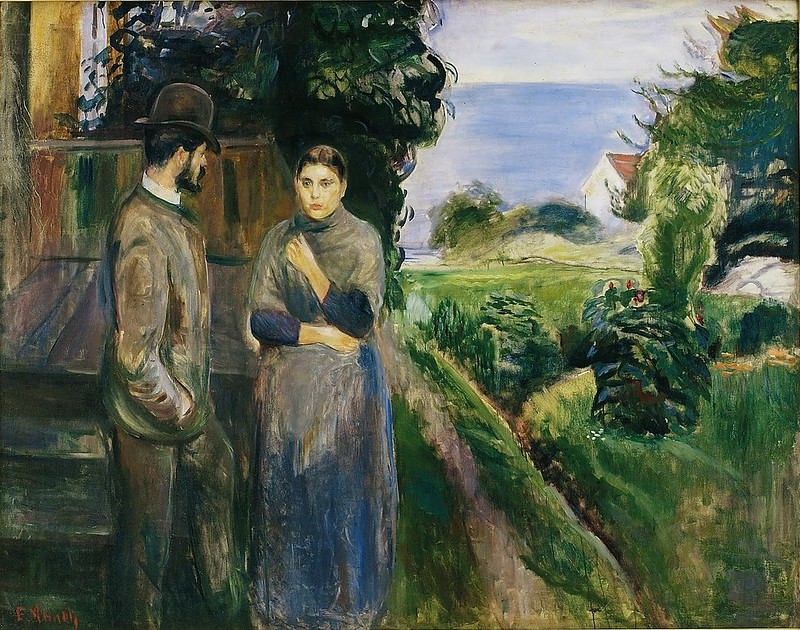 Edvard Munch - Sommer Evening (c.1889)