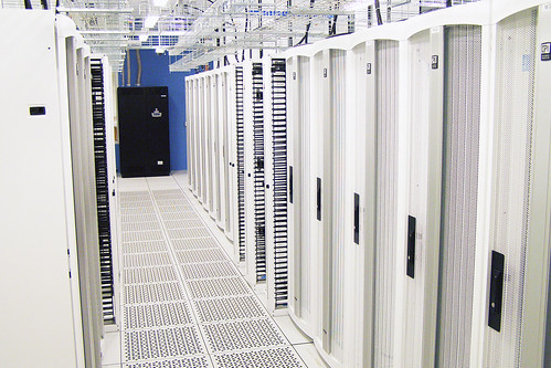 <p>Hardened, 8,000-square-foot, raised-floor Data Center with state-of-the-art, energy efficient, water-cooled equipment racks, backup battery, and generator power.</p>