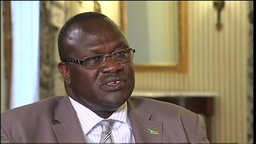Riek Machar Teny, the former vice-president the Republic of South Sudan, has been accused on being behind a coup plot in Juba. He has denied the charges. by Pan-African News Wire File Photos
