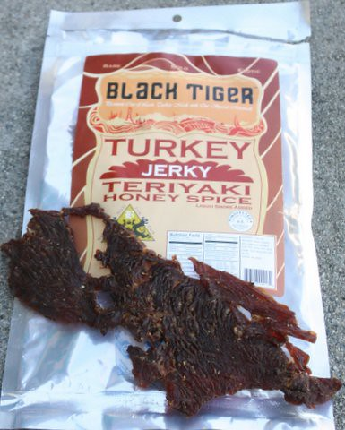 teriyaki honey turkey jerky
