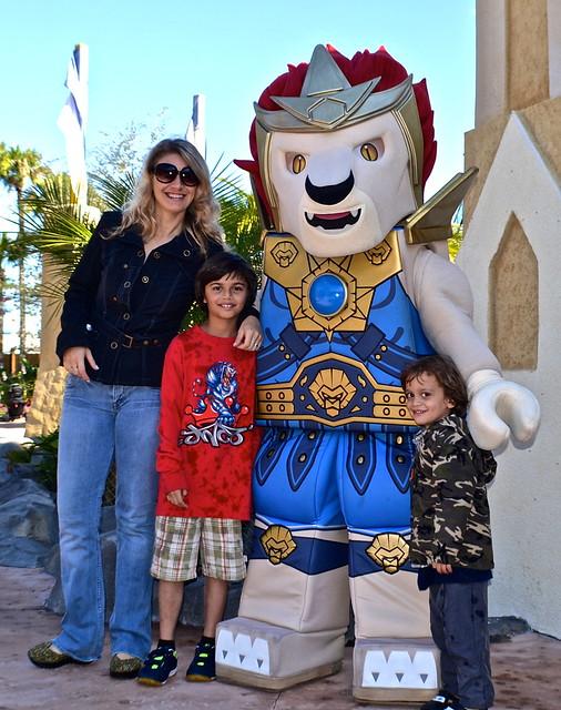 Legoland, Florida - Chima Character greeting