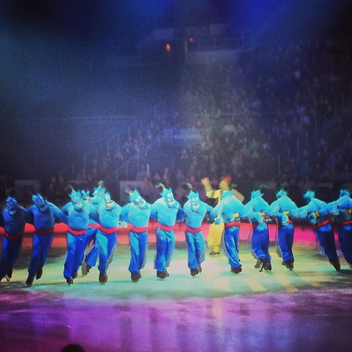 Never had a friend like me! #disneyonice