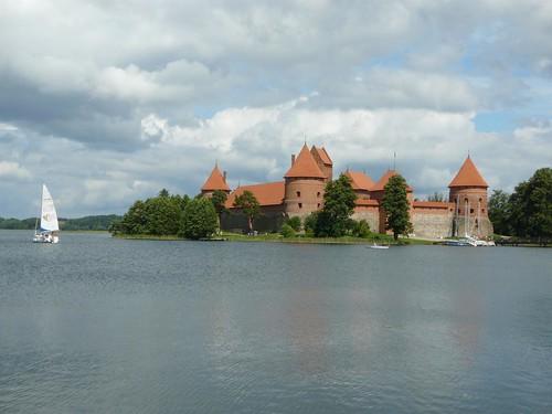 Foto del castillo de Trakai (Lituania)