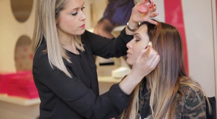 beautips barbara crespo make-up party makeup maquillaje fiesta maquillaje beauty video report beautips.com bourjois