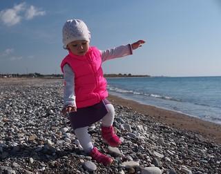 صورة  Riccos Beach. sea baby beach children cyprus