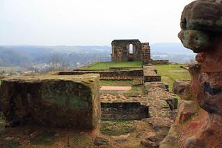 Ruine Kloster Wörschweiler, 19.1.14