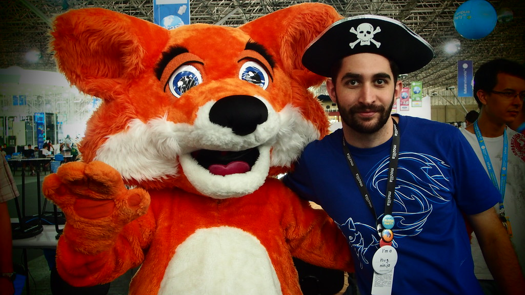 Firefox visita a la comunidad de Brasil