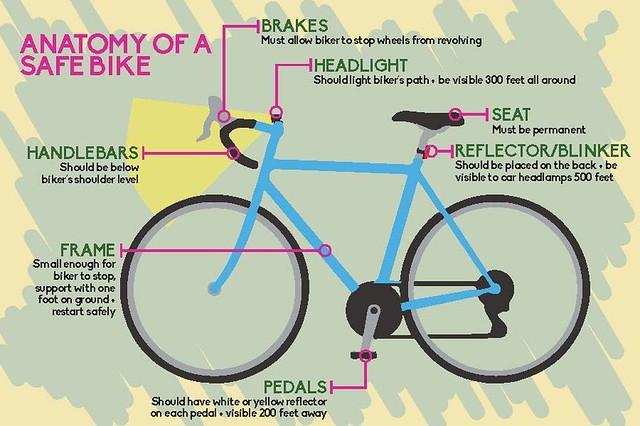 Anatomy of a Safe Bike