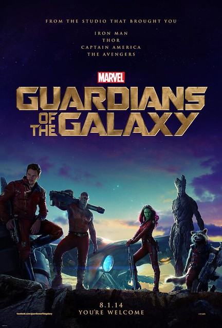 The First Official GOTG Poster!