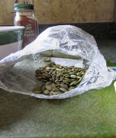 Pumpkin Seeds or Pepitas