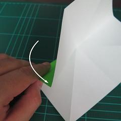 วิธีพับกระดาษเป็นจรวด X-WING สตาร์วอร์ (Origami X-WING) 003