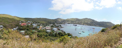 panorama saint port canon islands elizabeth hamilton vincent battery bequia grenadine 550d t2i