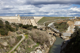 Massive Renovation At Folsom Dam 8009
