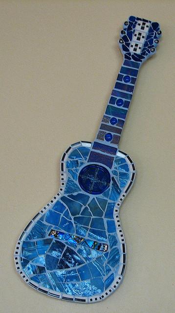 Darcy's blue guitar