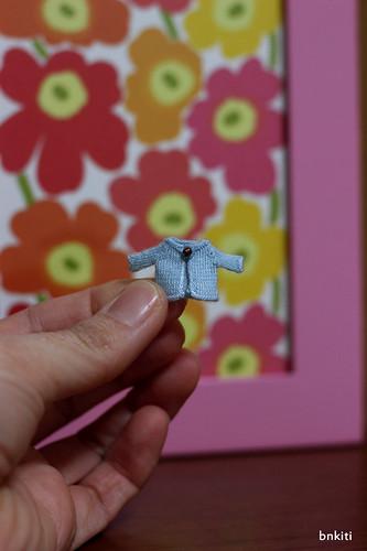 a tiny sweater, sample