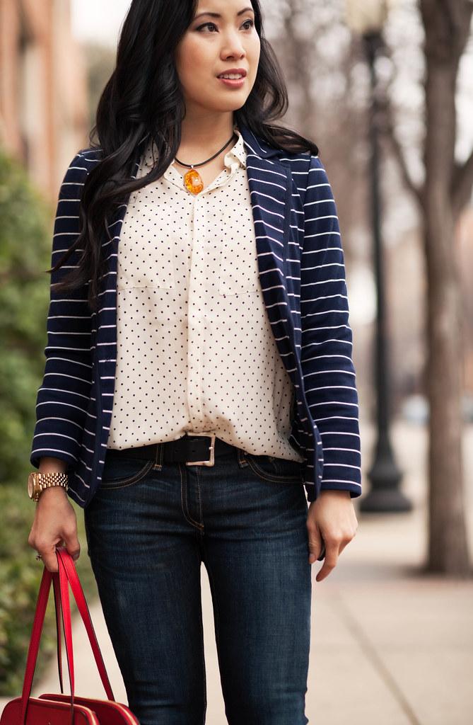 730473c9490 Black - Polka Dot - Stripe - Point Collar - Unlined - Dresses. Fotoğrafı  büyütmek için tıklayın