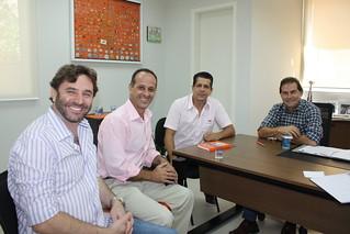 Jefferson Coriteac, Dilson Santhiago, David Martins e Paulinho da Força