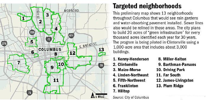 Columbus random development and news from the blueprint columbus initiative and a map of targeted neighborhoods that might see these concepts from malvernweather Gallery