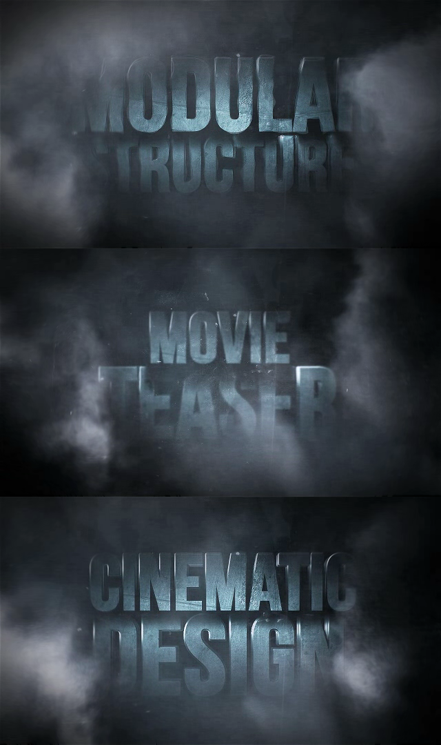 After effects Templates Blockbuster Titles