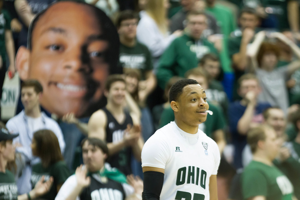 Ohio Bobcats Guard Stevie Taylor