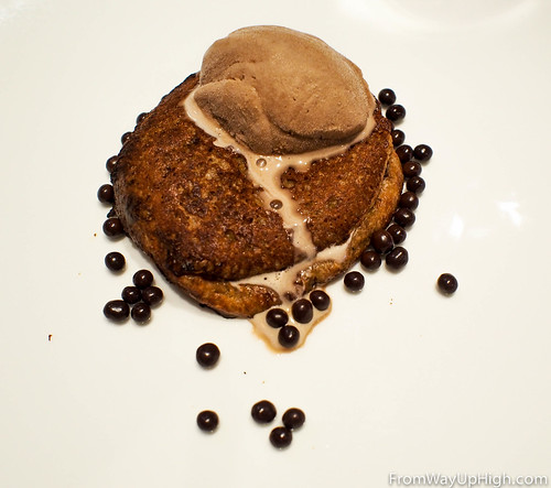 Epicurean hotel's French toast and porter