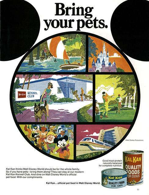 Kal kan kennel club at the magic kingdom 1972 from walt for Dog kennels near disney world