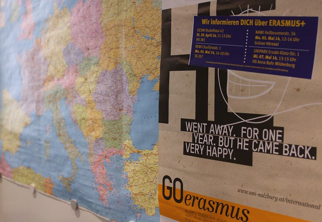 GOerasmus – Informationsveranstaltung zu geförderten Auslandsaufenthalten mit ERASMUS+