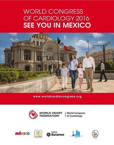 Obtiene México la sede del Congreso Mundial de cardiología 2016