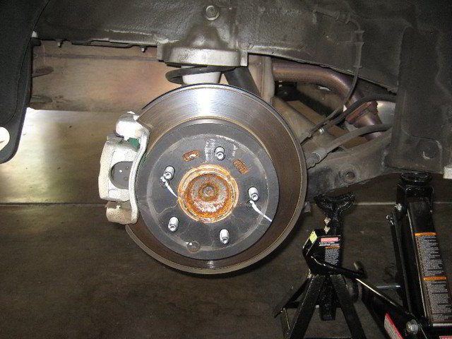 Changing rear brakes 2013 explorer autos post