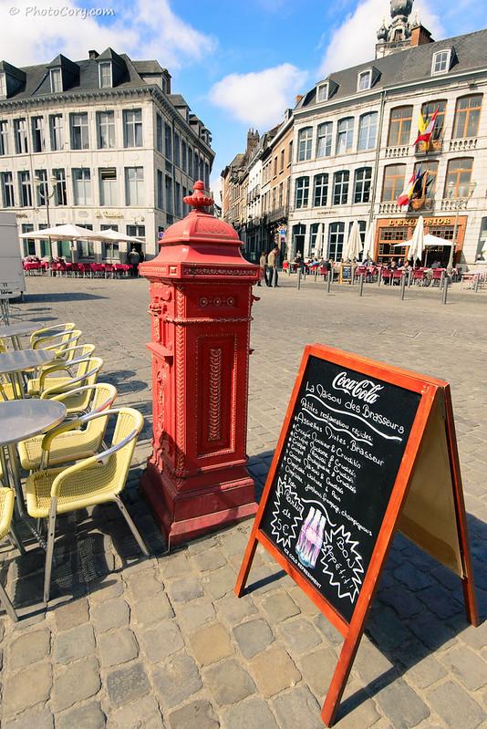 Mail Box in Mons, Belgium