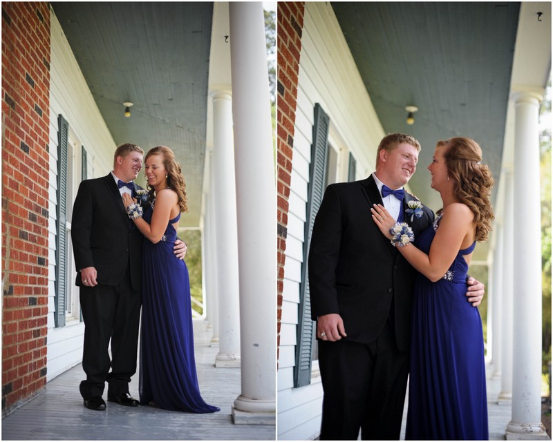 Daniel and Amy's prom portraits5