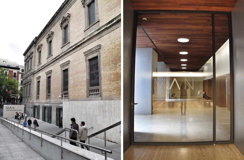 1museo arqueologico nacional_man_entrada sotano rampa accesibilidad_vestibulo